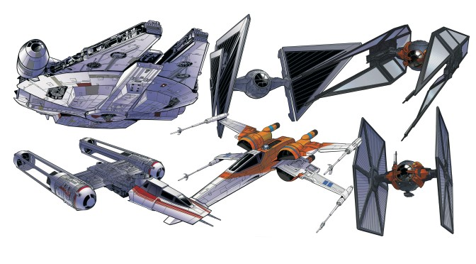 Star Wars: The Rise of Skywalker – Starships and Vehicles 'Official' Promotional Art