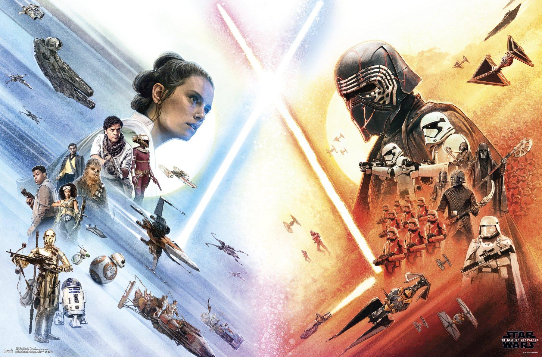 New Star Wars The Rise Of Skywalker Posters Geek Carl