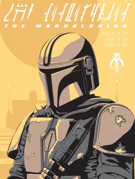 NEW Star Wars The Mandalorian Poster