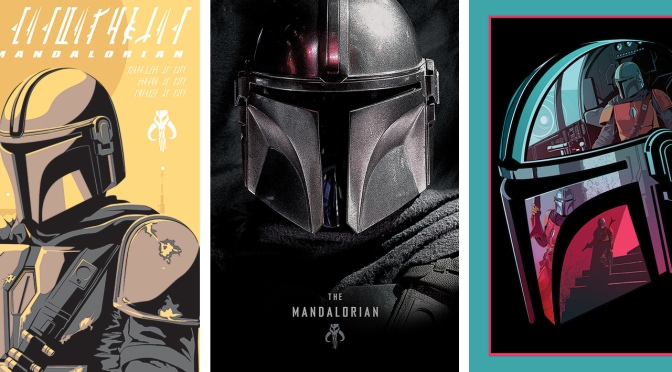 NEW Star Wars The Mandalorian Posters