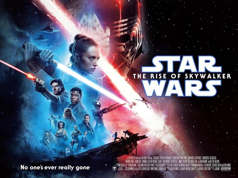 Star Wars - Episode 9 - The Rise of Skywalker Quad Poster Web