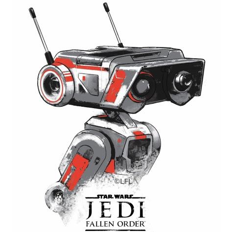 Star Wars Jedi Fallen Order Promo Art - BD-1