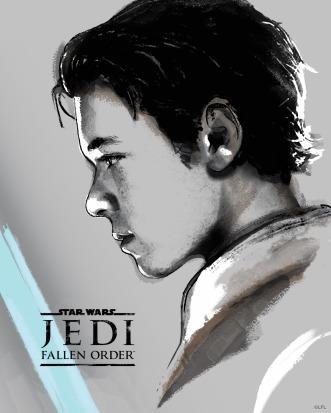 Star Wars Jedi Fallen Order Promo Art - Cal Kestis