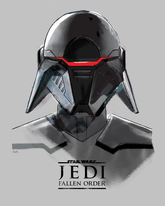 Star Wars Jedi Fallen Order Promo Art - Second Sister