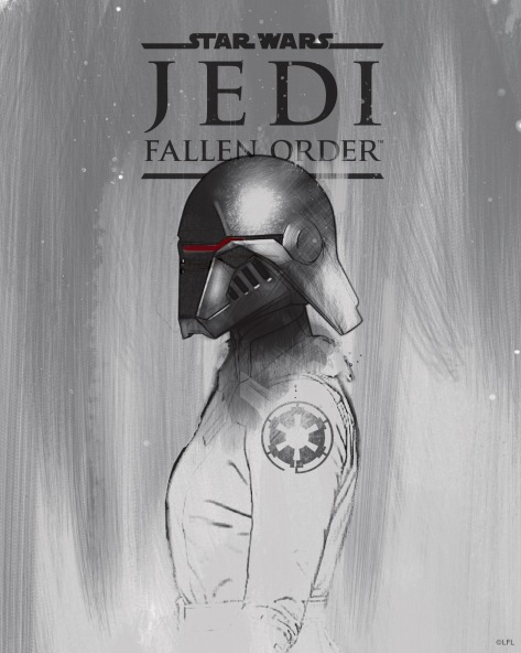 Star Wars Jedi Fallen Order Promo Art - Second Sister