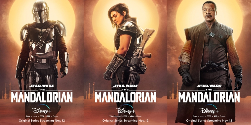 Star Wars The Mandalorian - Character Posters - 2