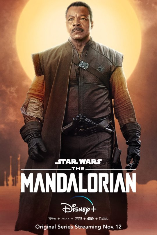 Star Wars The Mandalorian - Character Posters - Carl Weathers as Greef Carga