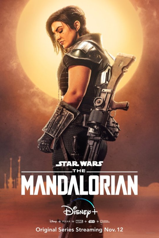 Star Wars The Mandalorian - Character Posters - Gina Carano as Cara Dune