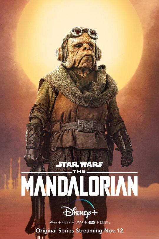 Star Wars The Mandalorian - Character Posters - Kuiil the Ugnaught