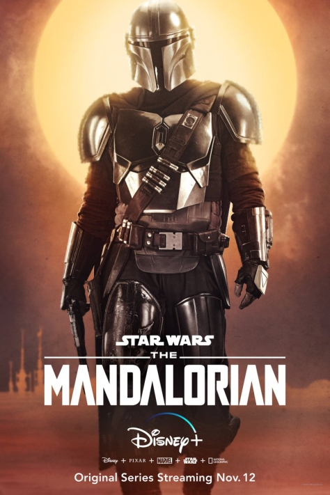 Star Wars The Mandalorian - Character Posters - Pedro Pascal as the Mandalorian