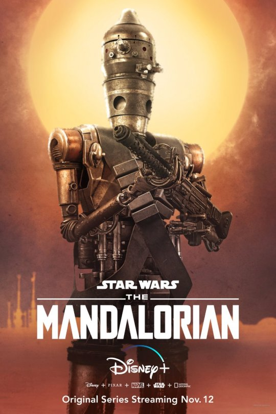 Star Wars The Mandalorian - Character Posters - Taika Waititi as IG-11