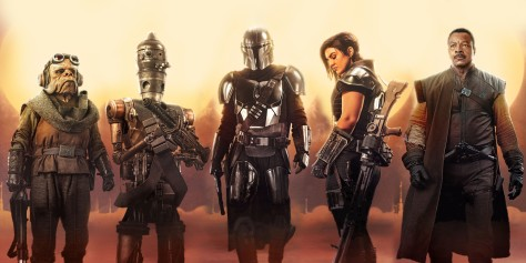 Star Wars - The Mandalorian - Character Posters - Textless Web