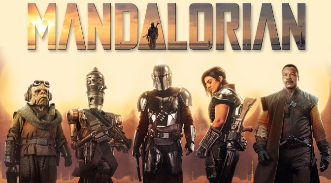 Star Wars: The Mandalorian – Character Posters – Textless