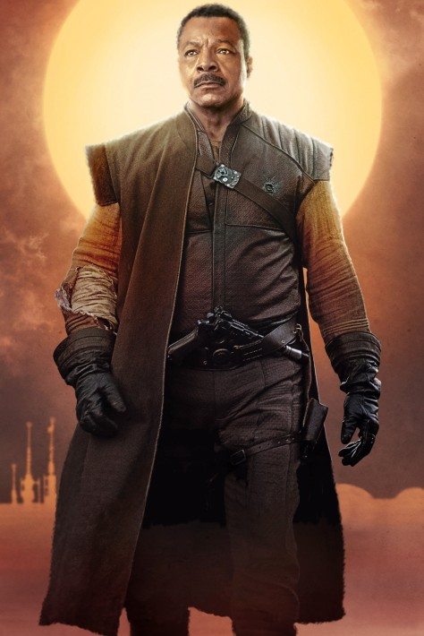 Star Wars The Mandalorian – Textless Character Posters – Carl Weathers as Greef Carga