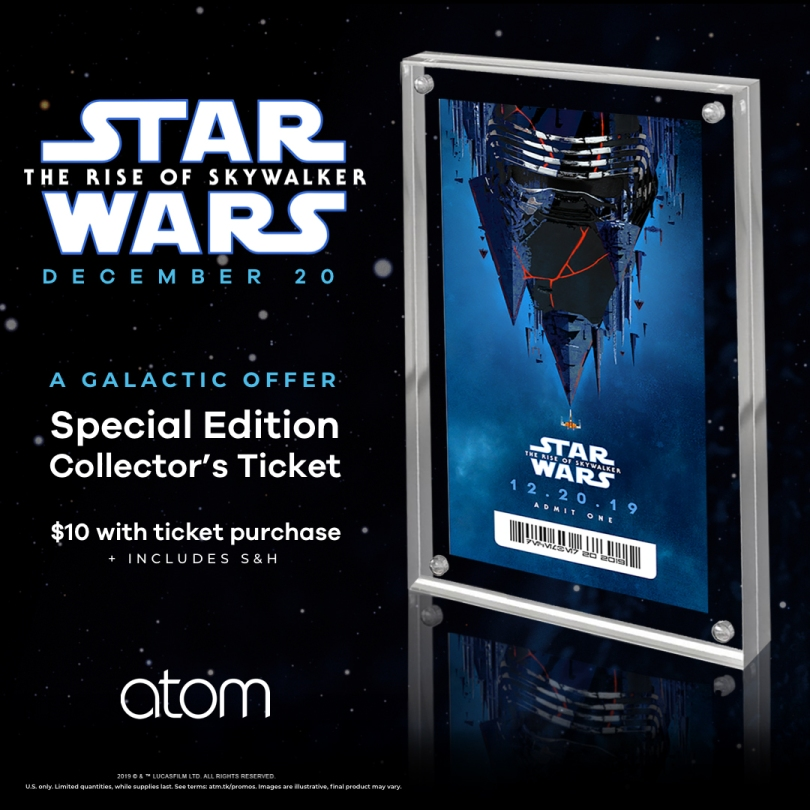 Star Wars The Rise of Skywalker Atom Cinemas Poster