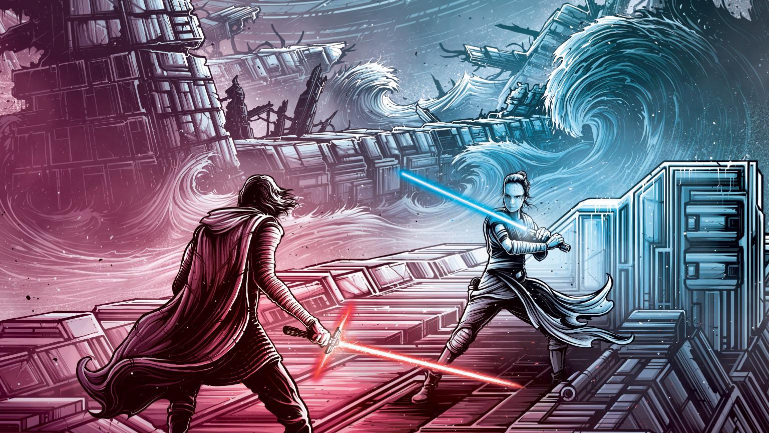 Star Wars The Rise Of Skywalker Imax Poster By Dan Mumford Geek Carl