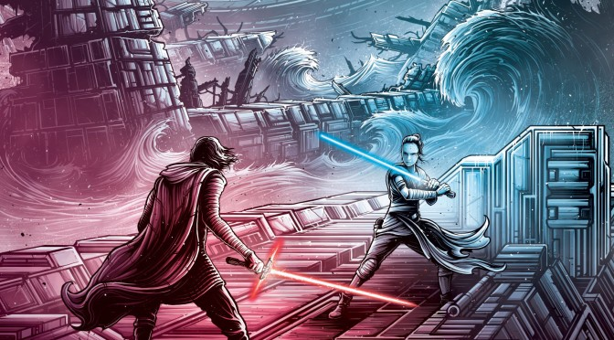 Star Wars: The Rise of Skywalker IMAX Poster by Dan Mumford