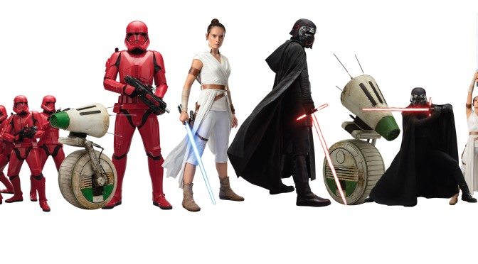 Star Wars:The Rise of Skywalker 'Official' Character Cut Outs by Fathead