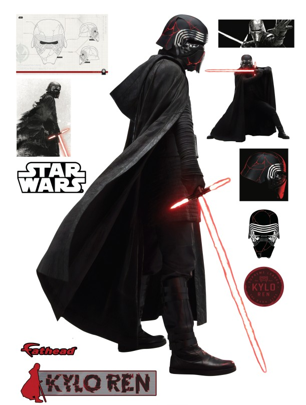 Star Wars The Rise of Skywalker Official Kylo Ren Cut Out by Fathead