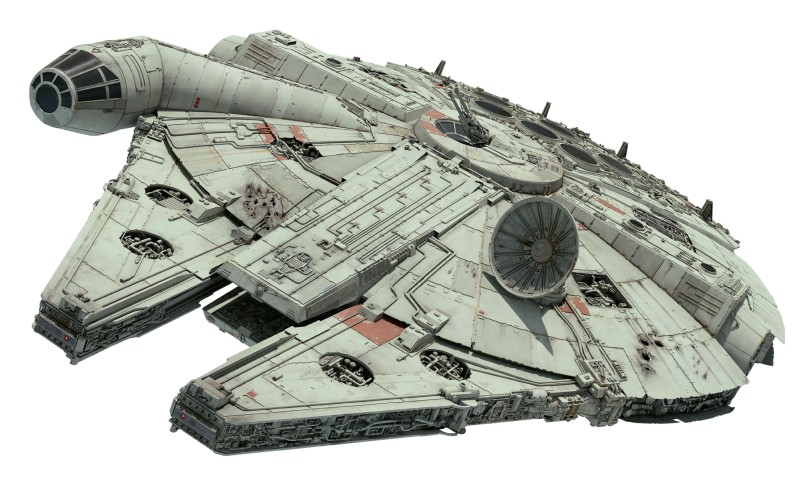 Star Wars The Rise of Skywalker Official Millennium Falcon Cut Out