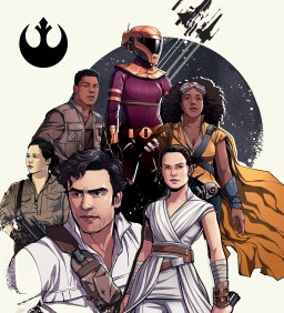 Star Wars - The Rise of Skywalker - Official Promo Art