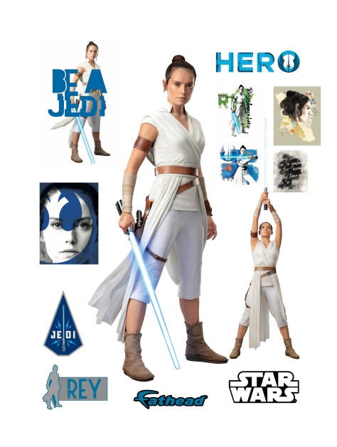 Star Wars The Rise of Skywalker Official Rey Cut Out by Fathead