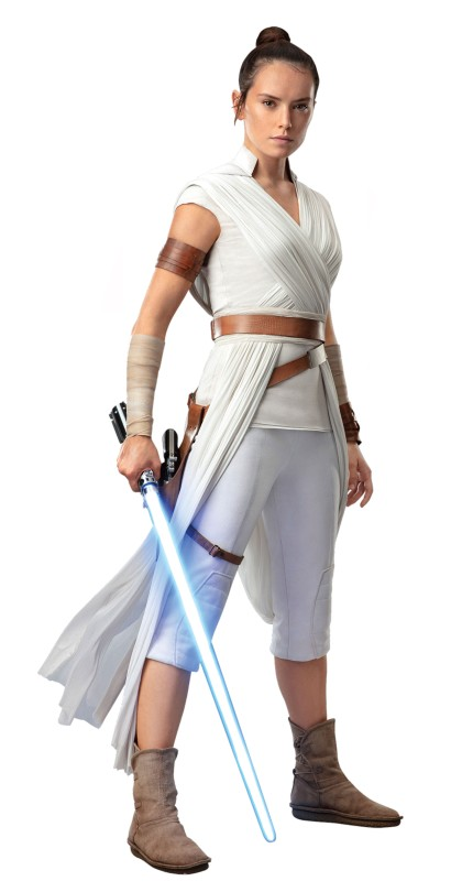 Star Wars The Rise of Skywalker Official Rey Cut Out