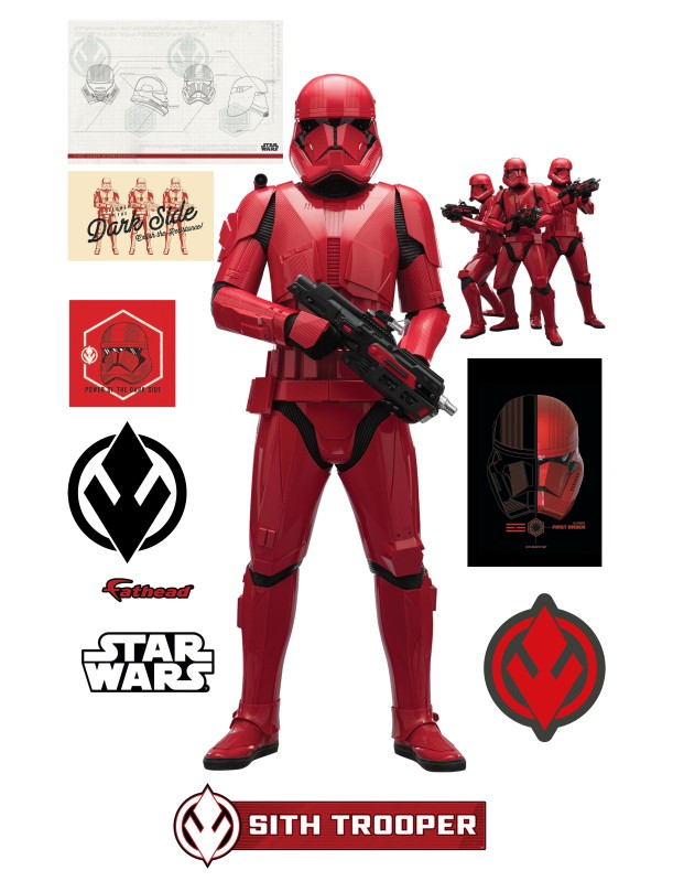 Star Wars The Rise of Skywalker Official Sith Trooper Cut Out by Fathead