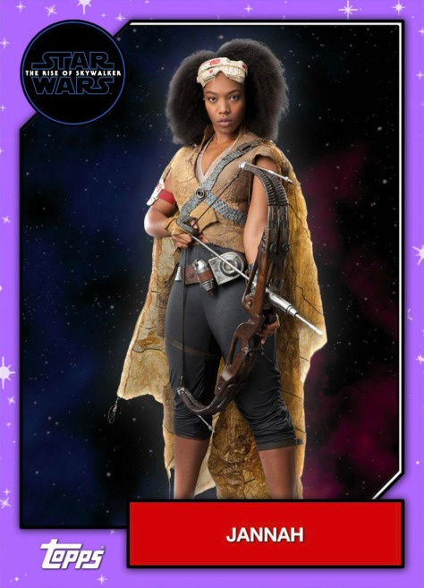 Star Wars - The Rise of Skywalker - Official Topps Trading Cards - Jannah