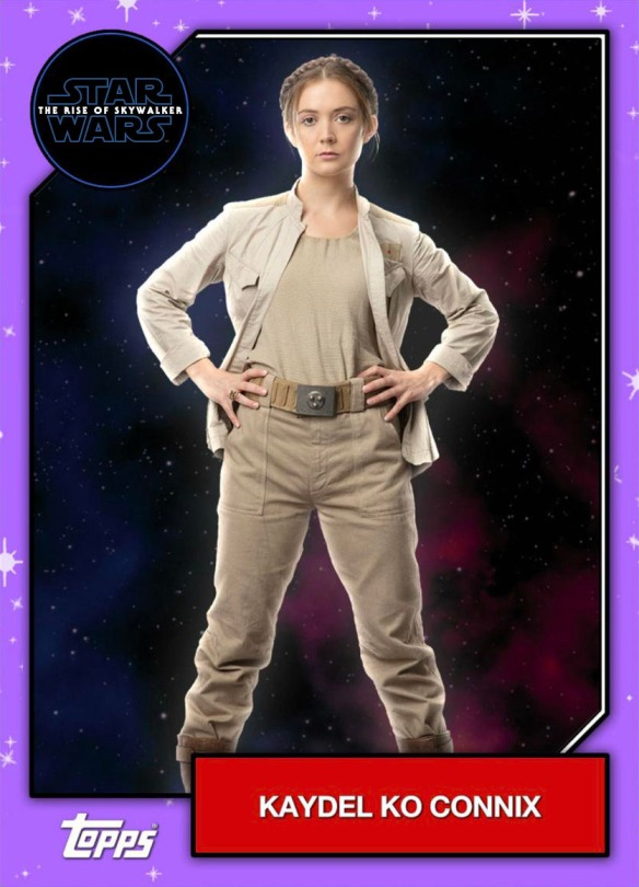 Star Wars - The Rise of Skywalker - Official Topps Trading Cards - Katdel Ko Connix