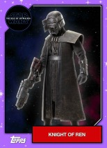 Star Wars - The Rise of Skywalker - Official Topps Trading Cards - Knights of Ren 1