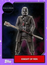 Star Wars - The Rise of Skywalker - Official Topps Trading Cards - Knights of Ren 2