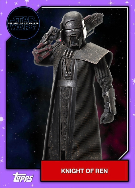 Star Wars - The Rise of Skywalker - Official Topps Trading Cards - Knights of Ren 5