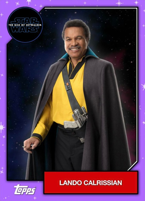 Star Wars - The Rise of Skywalker - Official Topps Trading Cards - Lando Calrissian