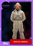 Star Wars - The Rise of Skywalker - Official Topps Trading Cards - Mon Cal General