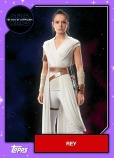 Star Wars - The Rise of Skywalker - Official Topps Trading Cards - Rey