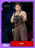 Star Wars - The Rise of Skywalker - Official Topps Trading Cards - Rose