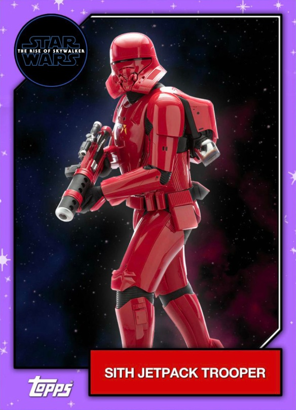 Star Wars - The Rise of Skywalker - Official Topps Trading Cards - Sith Jetpack Trooper