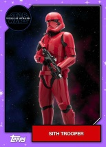 Star Wars - The Rise of Skywalker - Official Topps Trading Cards - Sith Trooper