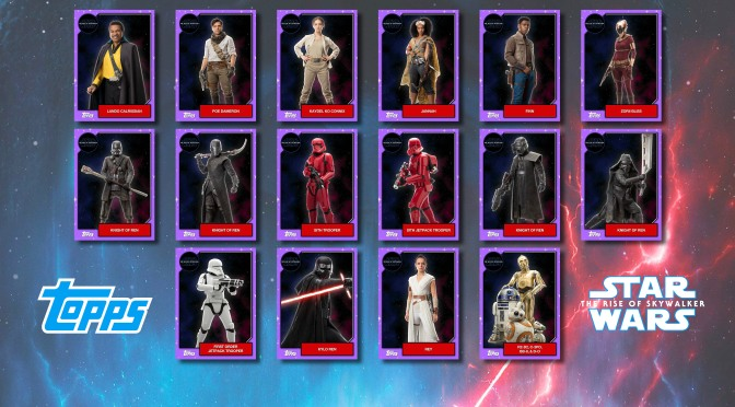 Star Wars - The Rise of Skywalker - Official Topps Trading Cards