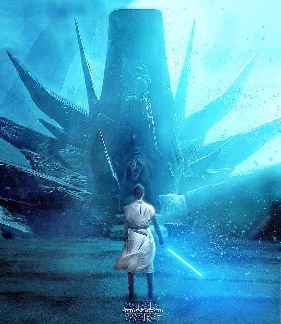 Star Wars The Rise Of Skywalker Fan Art Poster No 4 Geek Carl