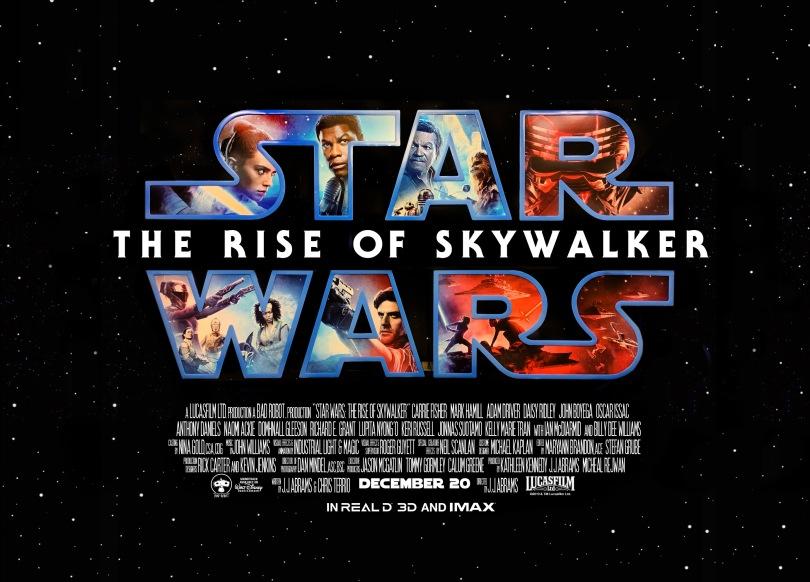 Star Wars The Rise of Skywalker Theatre Standee Art
