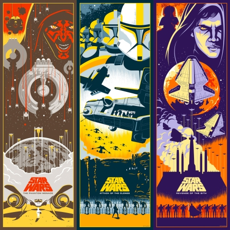 The Star Wars: Skywalker Saga is Complete Art by Eric Tan - Trilogy 1