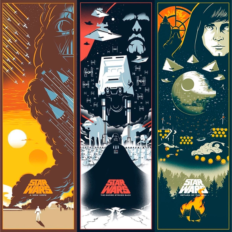 The Star Wars: Skywalker Saga is Complete Art by Eric Tan - Trilogy 2