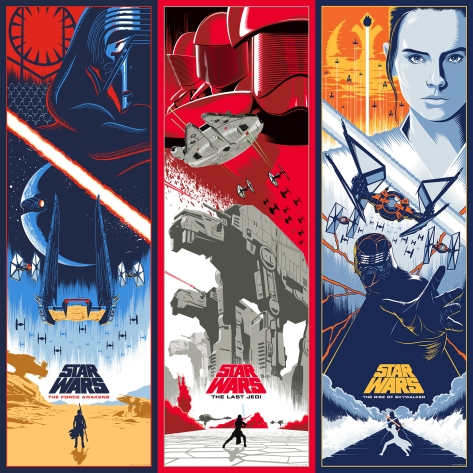 The Star Wars: Skywalker Saga is Complete Art by Eric Tan - Trilogy 3