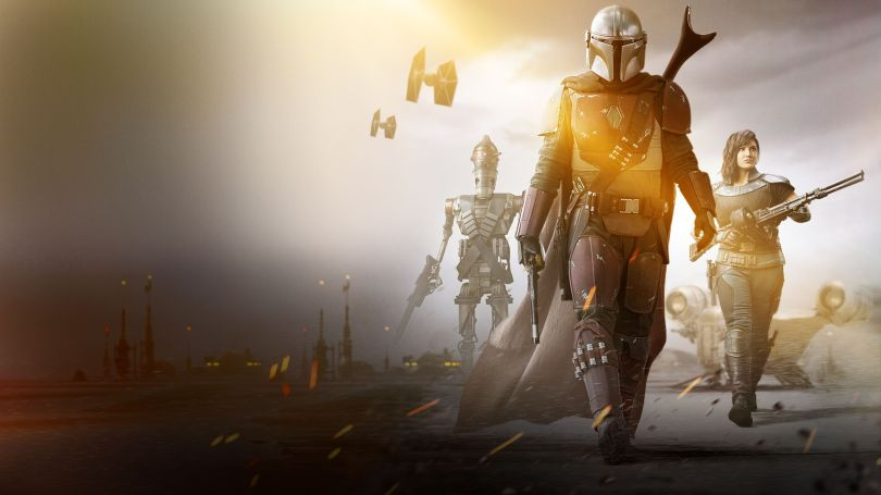 Star Wars The Mandalorian - DisneyPlus Cover Screen Image - 2