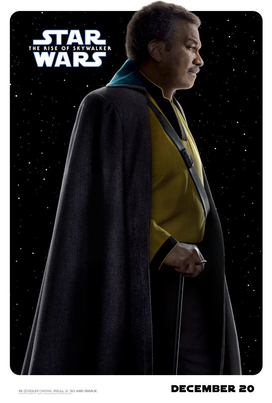 Star Wars - The Rise of Skywalker Character Posters