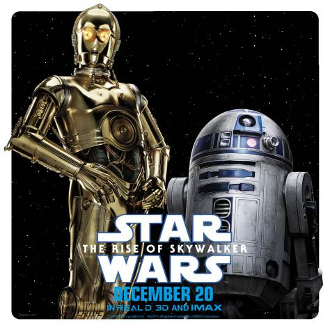 Star Wars The Rise of Skywalker - Character Teams - C-3PO and R2-D2