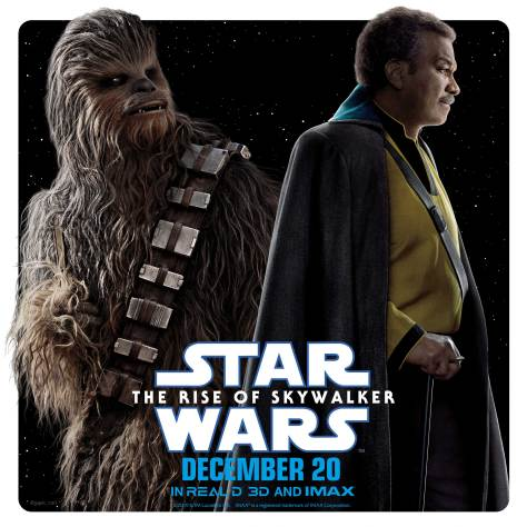 Star Wars The Rise of Skywalker - Character Teams - Chewbacca and Lando