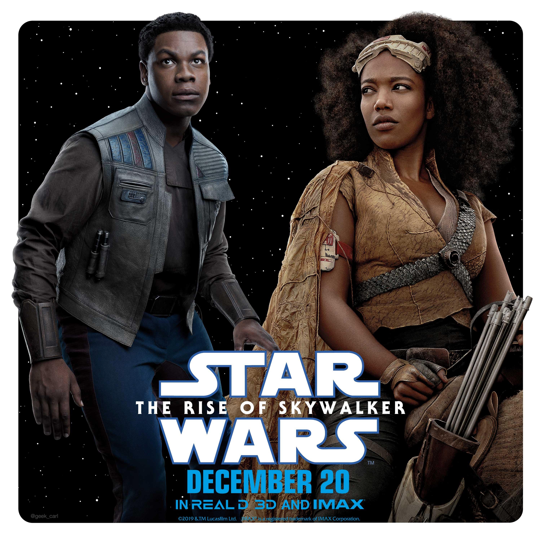 Star Wars The Rise Of Skywalker Character Teams Finn And Jannah Geek Carl